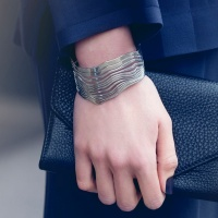 Whisper Bangle - Steel