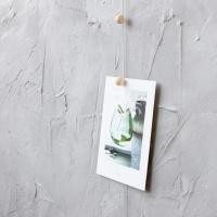 Fotokabel - Trämagnet