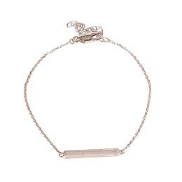 Saiph Bracelet Brushed - Silver