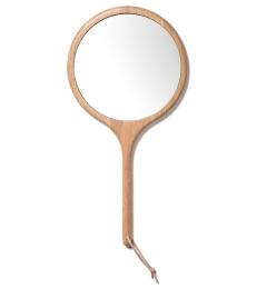 Hand Mirror Oak