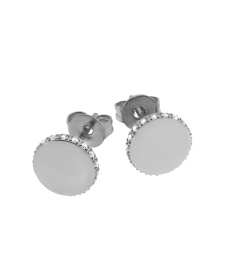 Ellinor Studs - Steel