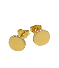 Ellinor Studs - Gold