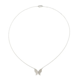 Gienah Necklace Large - Silver Short