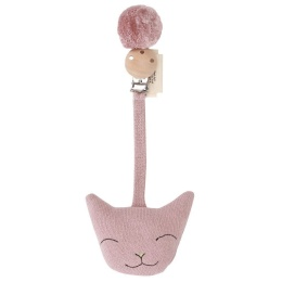 Clip Cat - Rose Fawn