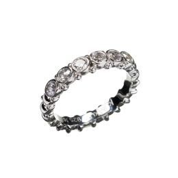 Ring Pretty Zicron - Silver