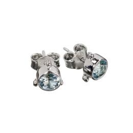 Earring Darling Blue Topaz - Silver