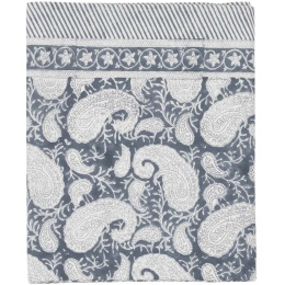 Duk Big Paisley 150x230cm - Sea Blue