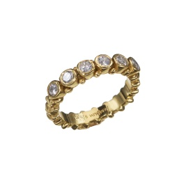 Ring Pretty Zicron White - Gold