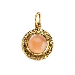 Coral Moonstone