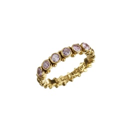 Ring Pretty Pink Zicron - Gold