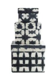 Batikboxar - 3 Storlekar