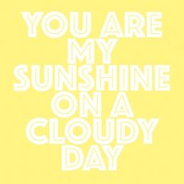 Print - Sunshine 30x30