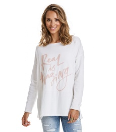 Sizzling Sweater - Light chalk