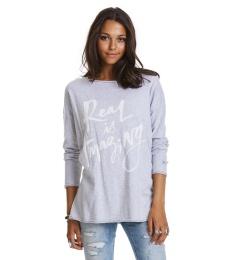 Sizzling Sweater - Light grey melange