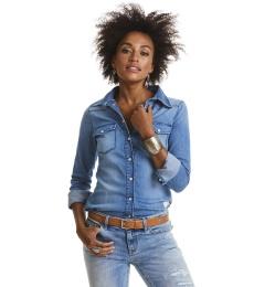 Dress up shirt - Mid blue