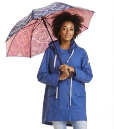 Raindrops umbrella - Dark blue