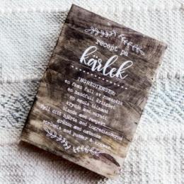 Tavla - Recept på Kärlek