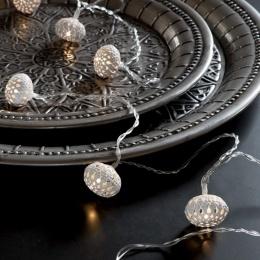 Ljusslinga - White Balls