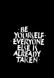 Print - Be Yourself