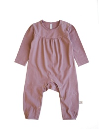 Anna Playsuit - Solid Dark Old Pink