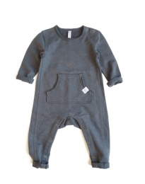 Oliver Playsuit - Solid Granite