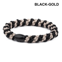 Supersnodden Hårband - Black/Gold