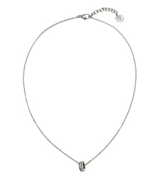 Isa Necklace Short - Steel