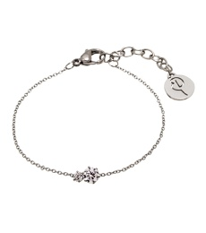 Crown Bracelet Double - Steel