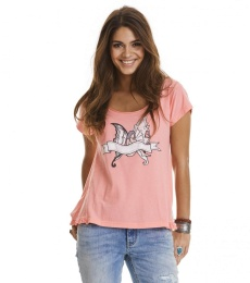 Holiday mood t-shirt - Light Coral
