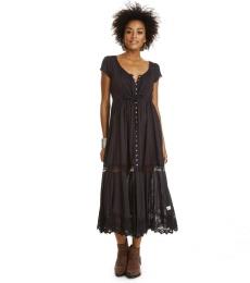 Anemone dress - Almost black