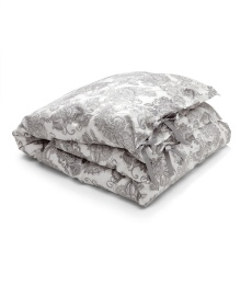 Inner Peace Duvet Cover - Mid Grey