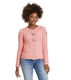 Canal Cardigan - Light Coral