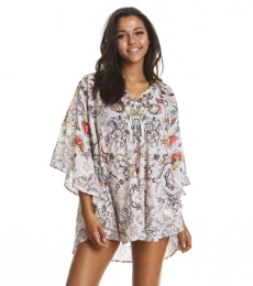 Sweet to the skin poncho - Multi