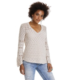 Love affair sweater - Light porcelain