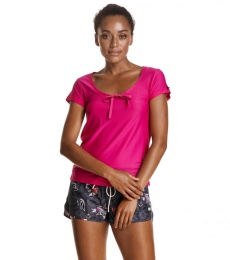 Sweat it solid top - Peony solid