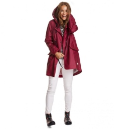 Monsoon rainjacket - Ruby