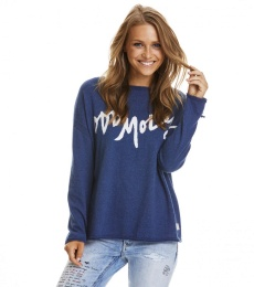 Hey baby pullover - Deep blue
