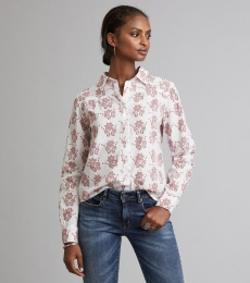 Duet Shirt - Deep Red