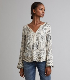 Esemble l/s Blouse - Light Porcelain