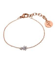 Crown Bracelet Double - Rosé