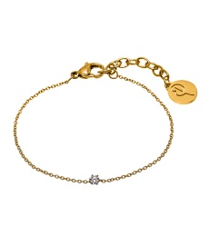Crown Bracelet Mini - Gold