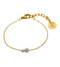 Crown Bracelet - Double Gold