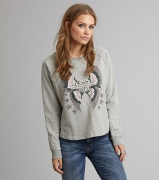 Choir Sweater - Light Grey Melange