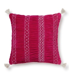 Remix Cushion Cover 50x50 - Scarlet