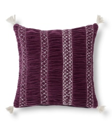 Remix Cushion Cover 50x50 - Grape