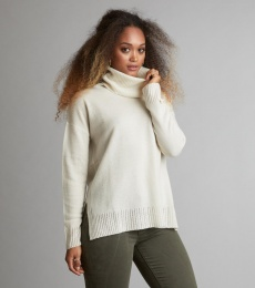 Fresh Air Turtleneck - Chalk
