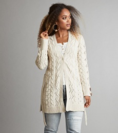 Flurry Cardigan - Chalk