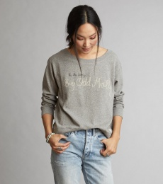 Pleasant Sweater - Light Grey Melange
