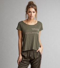 Labelize s/s Top - Dark Cargo