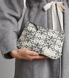 Itinerary Small Beauty Bag - Light Chalk